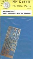AS-42 Sahariana Detail Set for Italeri