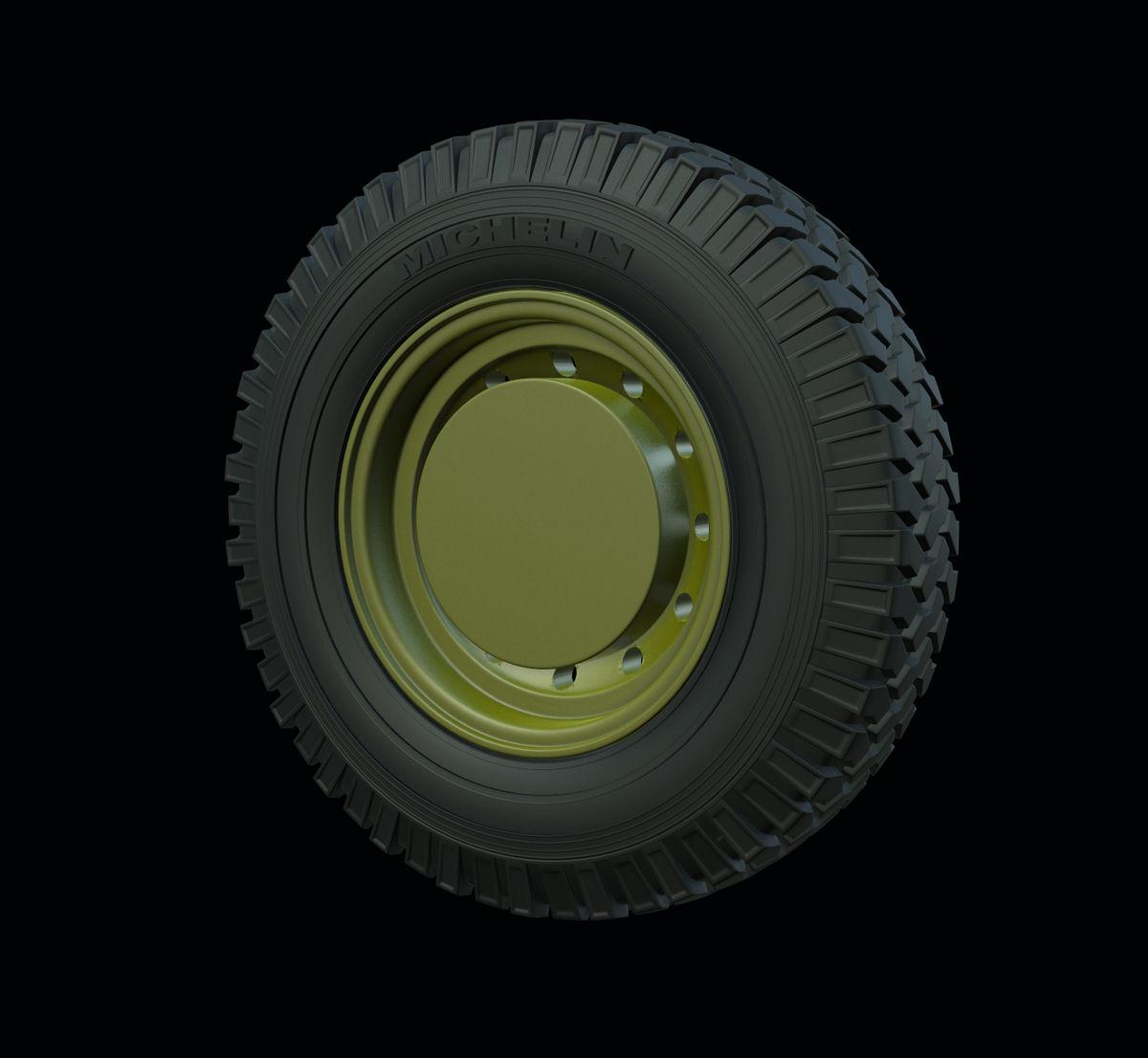 "Michelin PANZER ART RE35-541 1//35 Land Rover ""Defender"" Road wheels"
