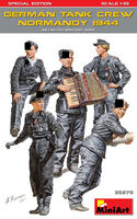German tank crew normandy 1944 WWII Military miniatures series - Image 1