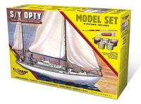 Jacht S/Y Opty - Model Set - Image 1