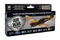 71183 Air War Color Series - US Army Air Corps Mediterranean Theater Operations (MTO) WWII Set
