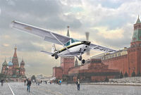 CESSNA 172 SKYHAWK - Landing on Red Square (1987) - Image 1