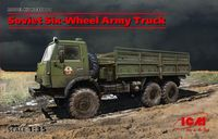 Soviet Six-Wheel Army Truck (new molds)