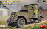 Austin Armored Car 3rd Series (Ukrainian, Polish, Georgian, Romanian Service) Interior Kit