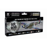 71162 Air War Color Series - RAF Colors Day Fighters 194-1945 & P.R.U. Set