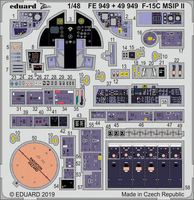 F-15C MSIP II interior GREAT WALL HOBBY