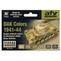 71207 AFV Color Series - DAK Colors 1941-44 set