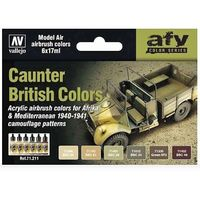 71211 AFV Color Series - Counter British set