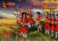 Saxon infantry (Northern War) ( 56 figures)
