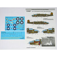 U.S.A.F. North American B-25C/D Mitchell Pin-Up Nose Art and Stencils (Part IV)