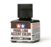 Panel Line Accent Color - Dark Brown