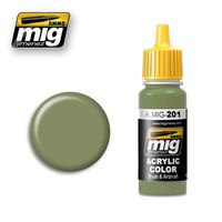 A.MIG 201 FS 34424 Light Gray Green
