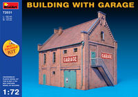 BUILDING WITH GARAGE