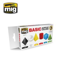 A.MIG-7178 BASIC ACRYLIC COLORS SET