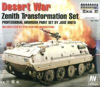 71153 Model Air - Desert War Zenith Transformation Set