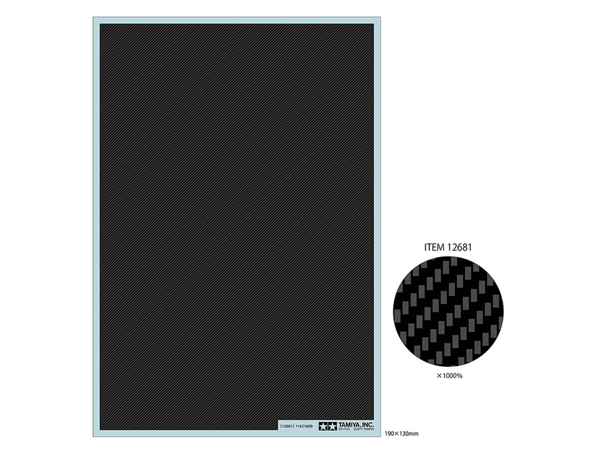 Carbon Pattern Decal Set - Image 1