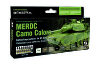 71202 Model Air - MERDC Camo Colors Paint Set