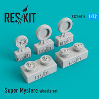 Super Mystere wheels set - Image 1