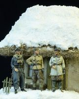 Waffen SS Officers Winter 1943-45 - Image 1