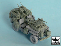 British SAS Jeep north Africa 1942 for Tamiya 32552, 34 resin parts - Image 1