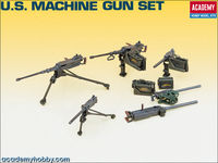 U.S. WWII Machine Gun Set