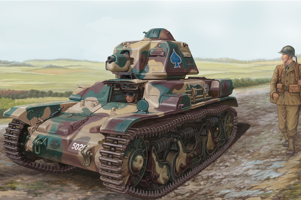 Hobby Boss 1//35 French R35 Light Infantry Tank # 83806