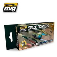 A.MIG 7131 SPACE FIGHTERS SCI-FI COLORS Set