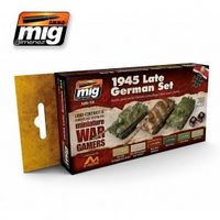 A.MIG 7118 WARGAME 1945 LATE GERMAN SET