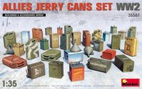 Allies Jerry Cans Set WWII - Image 1