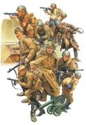 WWII Russian Infantry and Tank Crew Set - Image 1