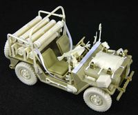 IDF M151A2 OREV Missile Carrier (Late)Con'set (for Tamiya/Academy M151A2)