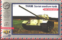Soviet T-44M medium tank with Zebrano etching parts(very limited edition) - Image 1