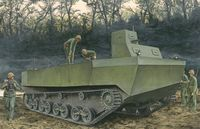 "IJN Special Type 4 ""Ka-Tsu"" Amphibious Tracked Vehicle"