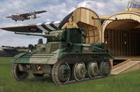 A17 Vickers Tetrarch MkI / MkICS Light Tank