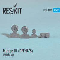 Dassault Mirage III (D/E/R/S) wheels set - Image 1