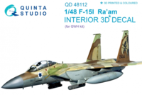 F-15I 3D-Printed & coloured Interior on decal paper