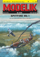 British fighter SPITFIRE Mk I