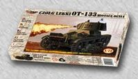 OT-133 Flame Thrower tank