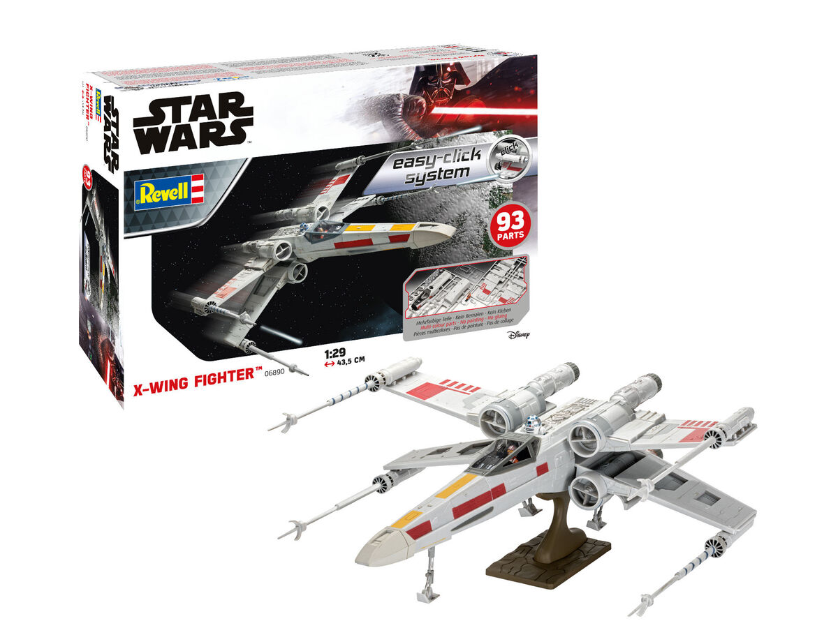 X-Wing Fighter easy-click system - Image 1