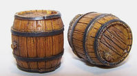 Wooden barrel - Image 1