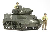 US Howitzer Motor Carriage M8 - Awaiting Orders w/3 Figures