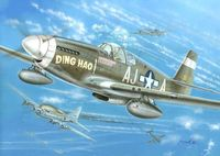 North-American P-51B Mustang Ding Hao, USAAF - Image 1