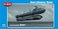 "German Mini submarine ""Marder"""