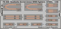 Seatbelts Soviet Union WW2 fighters STEEL - Image 1