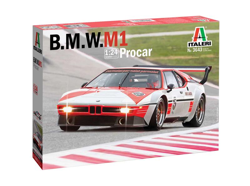 Italeri 1//24 BMW M1 Procar 3643