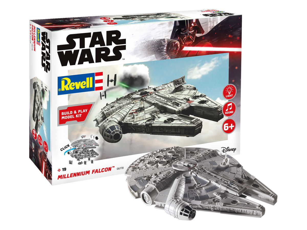 Millennium Falcon - Build & Play Model Kit - Image 1