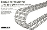 DOUBLE-PIN TRACKS FOR T-72 & T-90 MAIN BATTLE TANKS