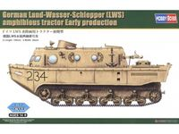 German Land-Wasser-Schlepper (LWS) amphibi tractor Early production