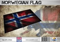 Norwegian Flag 297 x 210mm - Image 1