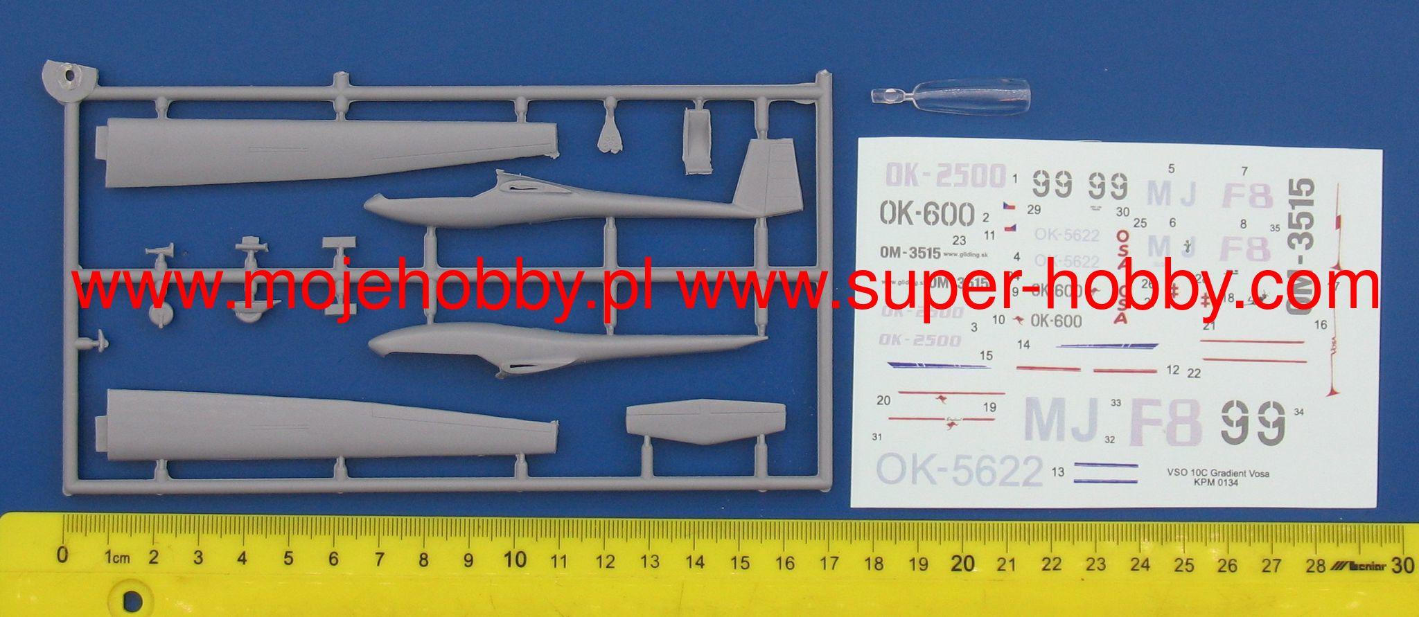 """Kovozavody Prostejov 1//72 Orlican VSO-10B /""""Gradient/"""" # 72134"""